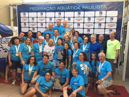 6c719c03c Nadadores atualizam três recordes sul-americanos no Campeonato Paulista de  Natação Master – FrancisSwim
