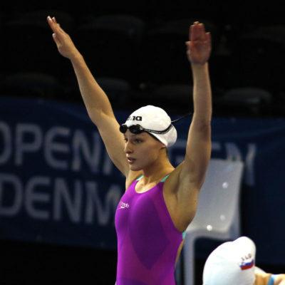 Diana Durães em sétimo lugar na final dos 800 livres no Europeu Copenhaga 2017
