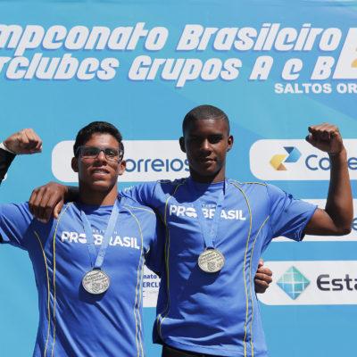 Luis Felipe Moura e Kawan Pereira voltaram a brilhar no Campeonato Brasileiro Interclubes de Saltos Ornamentais