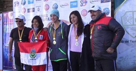 Camila Mercado e César Vargas foram os vencedores do XII Torneio Internacional de Águas Abertas Isla del Sol – Isla de la Luna na Bolívia