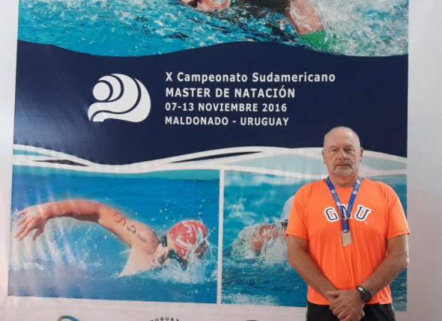 Campeonato Sul-Americano Master de Águas Abertas em Piriápolis – Uruguai – Projeto Nadando Pelos Cartões Postais do Mundo