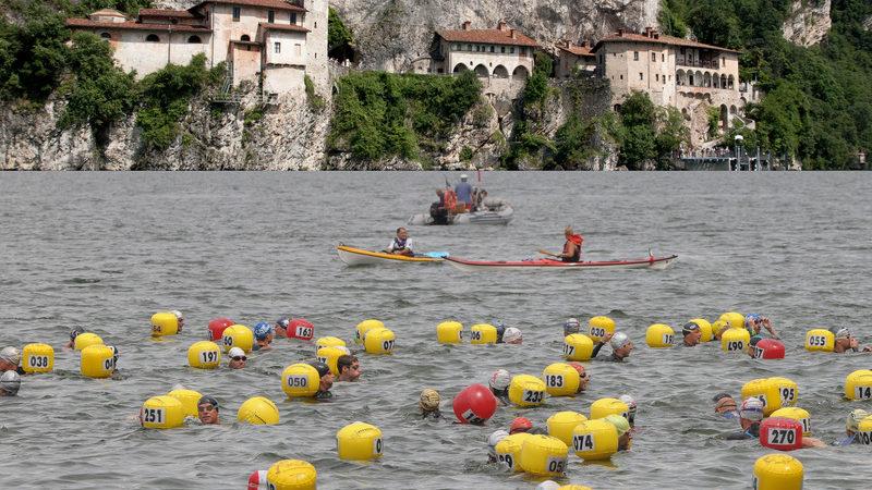 Do Lago Guaíba para o Lago Maggiore, uma paixão por águas abertas