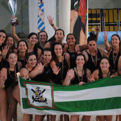 Fluvial Portuense Campeão Português Feminino de Polo Aquático
