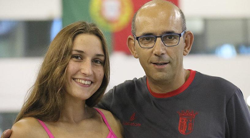 Entrevista com Tamila Holub a pérola da natação portuguesa