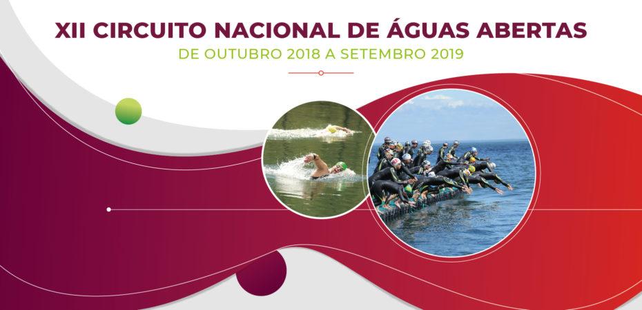 Federação Portuguesa de Natação apresenta o XII Circuito de Águas Abertas 2018/19