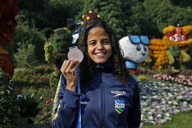 Depois de colocar a cara para bater no Mundial, Etiene vê bronze como incentivo para Tóquio