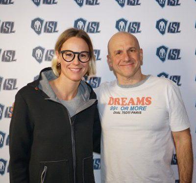 "Federica Pellegrini nova embaixadora do projeto ""International Swimming League (ISL)"""