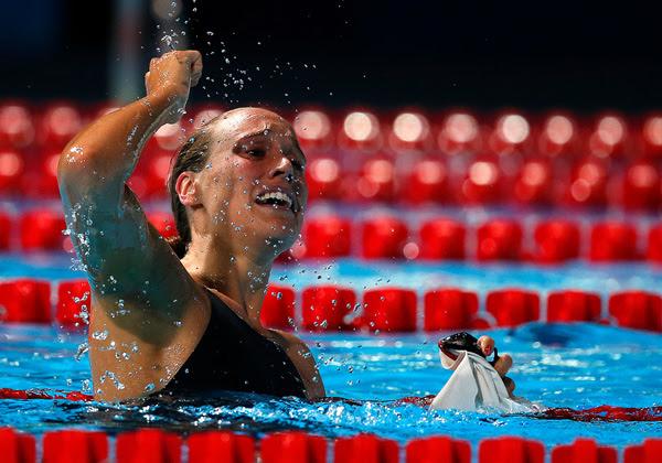 Verdensrekordholder og OL-bronzevinder, Rikke Møller Pedersen, indstiller sin internationale svømmekarriere