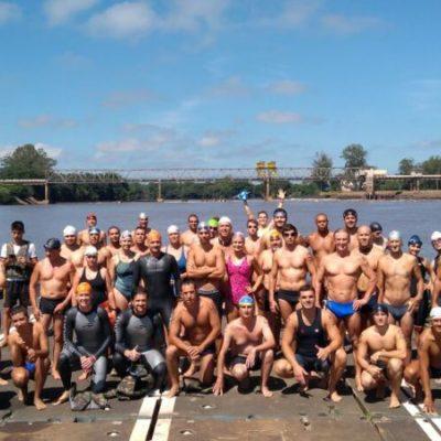 Travessia a Nado do Rio Jacuí reunirá nadadores no domingo 24 de fevereiro