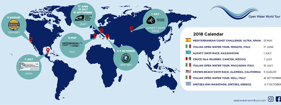Segunda edição da Open Water World Tour 2019