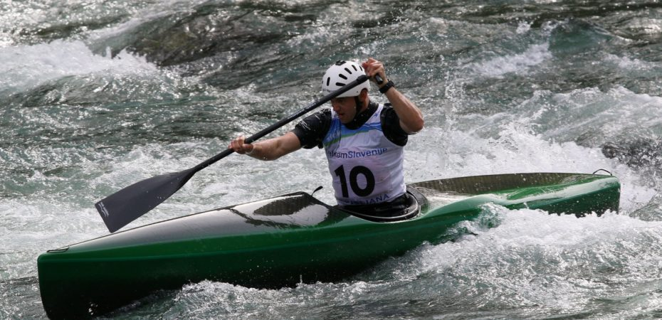 World Champion Nejc Žnidarčič the fastest on Kolpa River