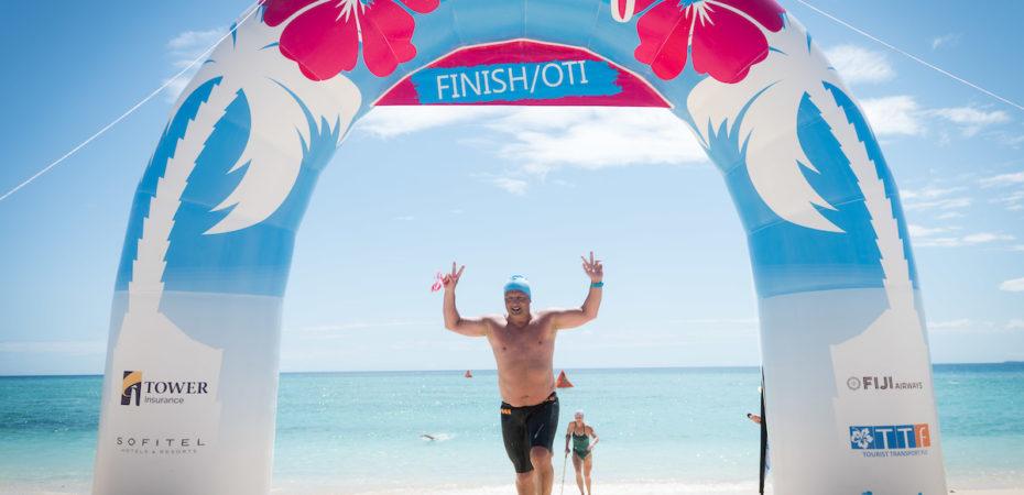 Ocean Swim Fiji tem que estar no topo da lista de qualquer maratonista aquático