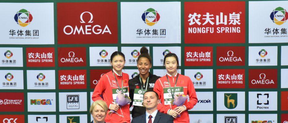 Mixed podiums in Kazan's Diving World Series FINA 2019