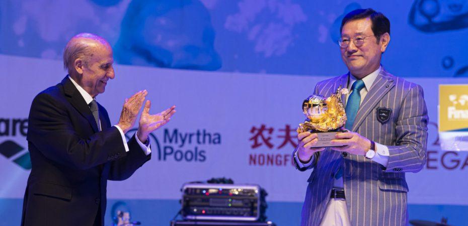 Gala Dinner celebrates FINA's anniversary and Gwangju' success