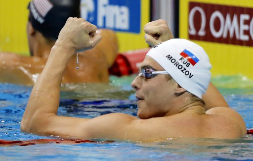 Morozov smashes three World Cup records in Singapore, Australia bags 14 golds at the FINA Swimming World Cup, Singapore