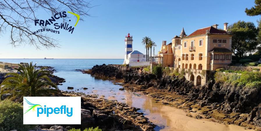 """Nadar em Cascais """"a bela vila costeira no Oceano Atlântico"""" – Portugal"""