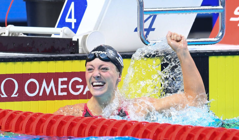 London Roar garante vitória na abertura da International Swimming League