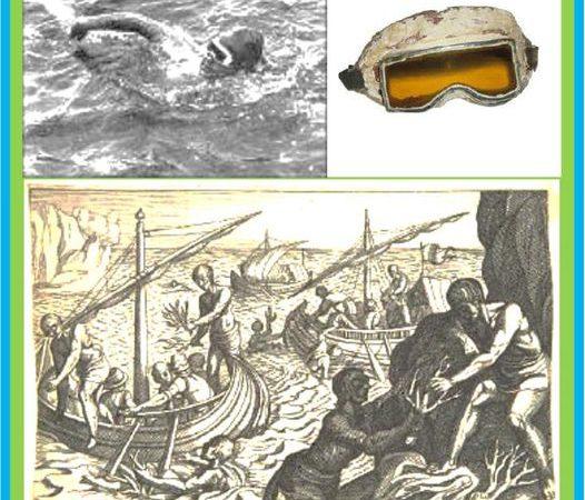 Óculos de natação uma breve história