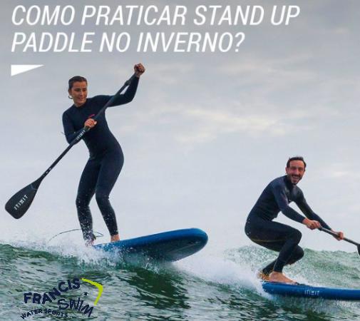 PORTUGAL – COMO PRATICAR STAND UP PADDLE NO INVERNO
