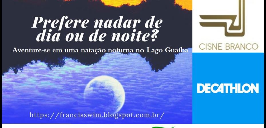 Aventure-se em uma natação noturna no Lago Guaíba – Projeto Nadando Pelos Cartões Postais